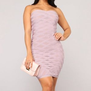 Dresses & Skirts - Lavender bandage dress